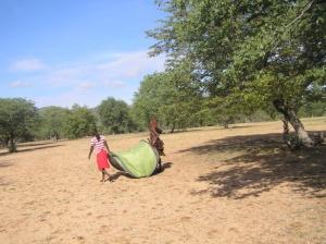 Venoo & Kaviruru on way to MK